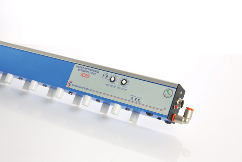 ANTISTATIC BARS 24 VDC - MOD  K20