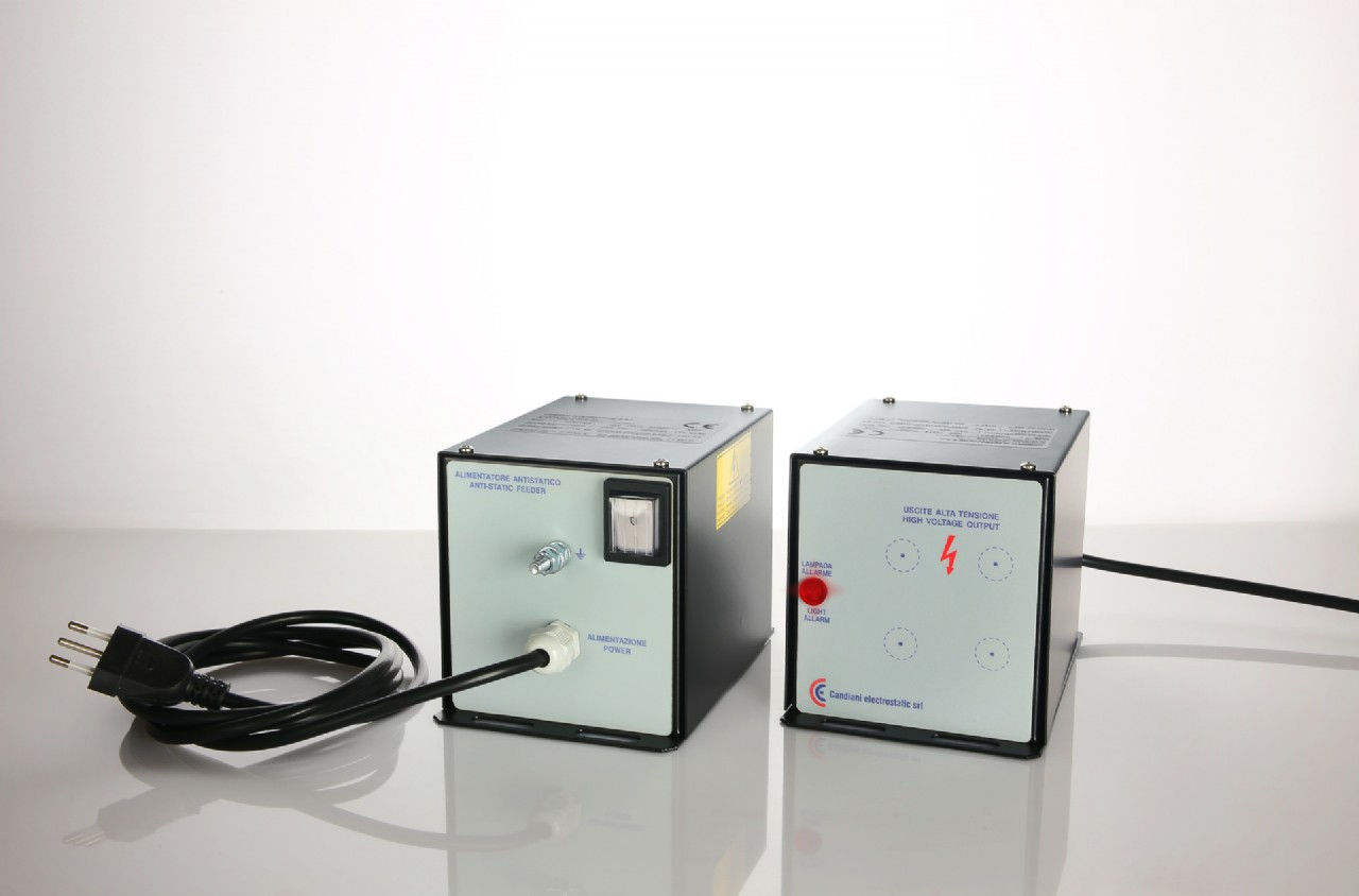 ANTISTATIC  POWER UNITS - MOD. CND/PD5 I - CND/PD7 I